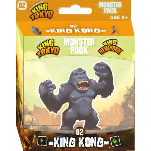 "King of Tokyo: King Kong, Board Game, Age_10+, Age_8+, Age_9+, Age_Adult, Age_Teen, Category_Expansion, Category_Family, iello, King of Tokyo, Mechanic_Area Control, Mechanic_Dice Rolling, Mechanic_Drafting, Mechanic_Player Elimination, Mechanic_Press Your Luck, Richard Garfield, ""board games"", ""Hobby Games"""