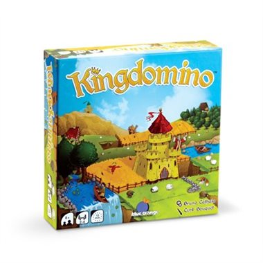 "Kingdomino, Board Game, Age_8-10 years, Blue Orange, Bruno Cathala, Category_Family, Mechanic_Area Enclosure, Mechanic_Drafting, Mechanic_Pattern Building, Mechanic_Tile Placement, ""board games"", ""Hobby Games"""