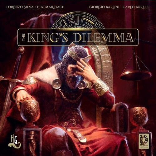 "The King's Dilemma, Board Game, Category_Thematic, Giorgio Baroni, Giulia Ghigini, Hjalmar Hach, Lorenzo Silva, Mechanic_Hidden Traitor, Mechanic_Legacy, Mechanic_Negotiation, ""board games"", ""Hobby Games"", Hobby Games"