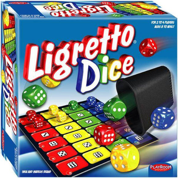 "Ligretto Dice, Dice Game, Age_8-10 years, Mechanic_Dice Rolling, ""board games"", ""Hobby Games"""