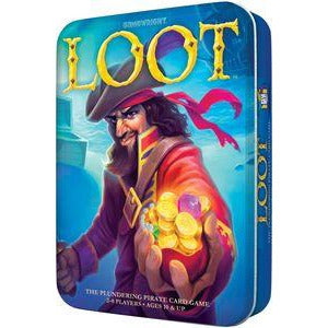 "Loot, Card Game, Age_8-10 years, Category_Family, Gamewright, Mechanic_Area Control, Mechanic_Hand Management, Mechanic_Team Play, Reiner Knizia, ""board games"", ""Hobby Games"", Hobby Games"