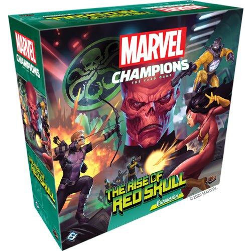 "Marvel Champions: The Rise of Red Skull, Board Game, Age_Teens, Asmodee, Category_Deck Building, Category_Expansion, Category_Solo, Marvel, Mechanic_Cooperative, Mechanic_Deck Building, Mechanic_Variable Player Powers, Michael Boggs, Nate French, ""board games"", ""Hobby Games"", Hobby Games"
