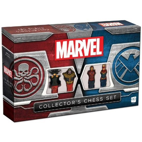 "Marvel Collectors Chess Set, Board Game, Age_8-10 years, Category_2 Player, Category_Abstract, Category_Family, Category_Pop Culture, Chess, ""board games"", ""Hobby Games"", Hobby Games"