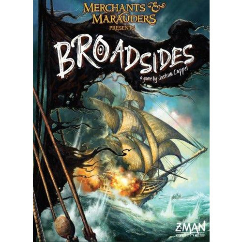"Merchants and Marauders: Broadsides, Board Game, Age_Adult, Age_Teen, Category_Thematic, Josh Cappel, Mechanic_Hand Management, ""board games"", ""Hobby Games"""