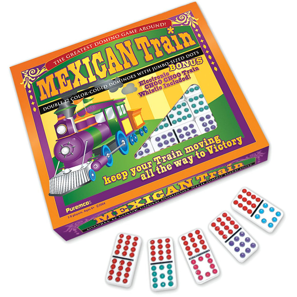 "Mexican Train Dominoes, Board Game, Age_5-7 years, Category_Abstract, Category_Family, Mechanic_Tile Placement, ""board games"", ""Hobby Games"", Hobby Games"