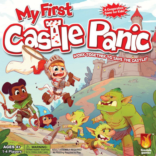 "My First Castle Panic, Board Game, Age_10+, Age_4+, Age_5+, Age_6+, Age_7+, Age_8+, Age_9+, Age_Adult, Age_Teen, Castle Panic, Category_Childrens, Category_Cooperative, Category_Solo, ""board games"", ""Hobby Games"""