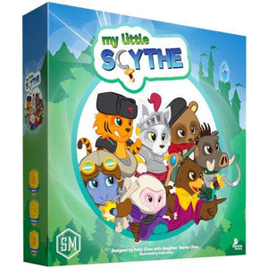 "My Little Scythe, Card Game, Age_10+, Age_8+, Age_9+, Age_Adult, Age_Teen, Category_Childrens, Category_Family, Hoby Chou, Mechanic_Area Control, Mechanic_Dice Rolling, Mechanic_Pick-up and Deliver, Mechanic_Take That, Scythe, Vienna Chou, ""board games"", ""Hobby Games"""