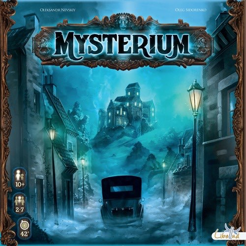 "Mysterium, Board Game, Age_10+, Age_Adult, Age_Teen, Category_Cooperative, Category_Party, Category_Thematic, Mechanic_Cooperative, Mechanic_Deduction, Mechanic_Hand Management, Mechanic_Pattern Recognition, ""board games"", ""Hobby Games"""