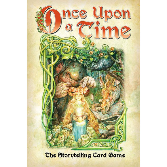 "Once Upon a Time: The Storytelling Card Game, Card Game, Age_10+, Age_8+, Age_9+, Age_Adult, Age_Teen, Card Game, Category_Family, Category_Party, Category_Thematic, ""board games"", ""Hobby Games"""
