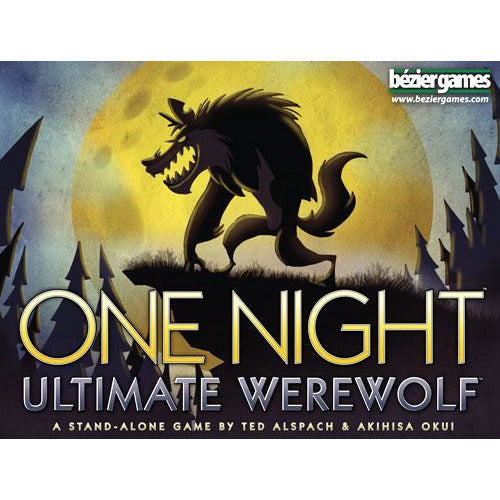 "One night Ultimate Werewolf, Card Game, Age_8-10 years, Akihisa Okui, Bezier Games, Category_Party, Mechanic_Bluffing, Mechanic_Hidden Traitor, Mechanic_Variable Player Powers, Ted Alspach, ""board games"", ""Hobby Games"""