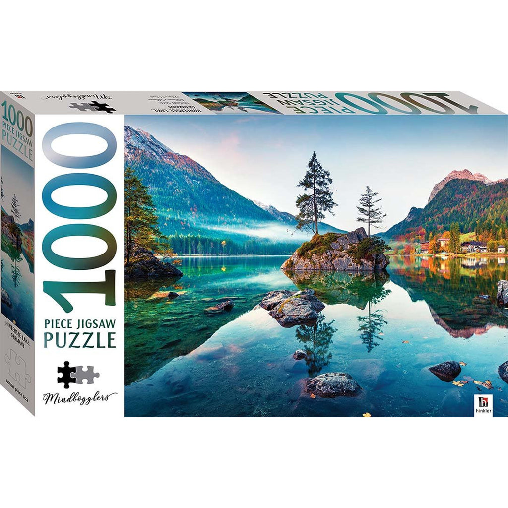 "Mindbogglers Series 14, Hintersee Lake Germany - 1000 Pieces, Puzzle, Brand_Hinkler, Category_Puzzle, Collection_Mindbogglers Series 14, Pieces_1000, Theme_Landscape, ""board games"", ""Hobby Games"", Hobby Games"
