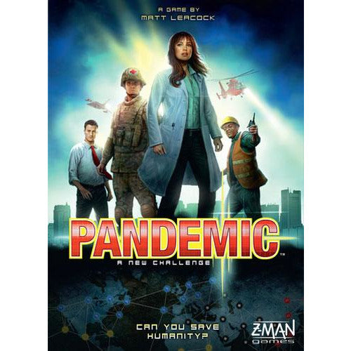 "Pandemic, Board Game, Age_10+, Age_8+, Age_9+, Age_Adult, Age_Teen, Category_Cooperative, Category_Family, Category_Strategy, Matt Leacock, Mechanic_Cooperative, Mechanic_Hand Management, Mechanic_Set Collection, Mechanic_Trading, Mechanic_Variable Player Powers, Pandemic, ""board games"", ""Hobby Games"""