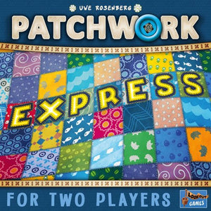 "Patchwork Express, Board Game, Age_10+, Age_6+, Age_7+, Age_8+, Age_9+, Age_Adult, Age_Teen, Category_Abstract, Category_Family, Mechanic_Drafting, Mechanic_Tile Placement, Uwe Rosenberg, ""board games"", ""Hobby Games"""