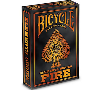 "Bicycle Playing Cards - Fire, Card Game, Playing cards, ""board games"", ""Hobby Games"", Hobby Games"