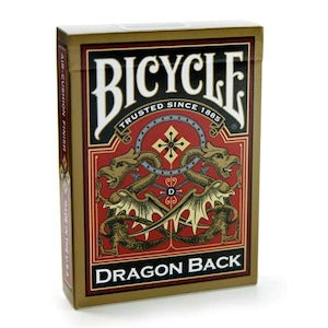 "Bicycle Playing Cards - Gold Dragon Back, Card Game, Age_10+, Age_3+, Age_4+, Age_5+, Age_6+, Age_7+, Age_8+, Age_9+, Age_Adult, Age_Teen, Playing cards, ""board games"", ""Hobby Games"""