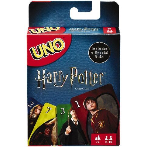 "Uno - Harry Potter, Card Game, Age_5-7 years, Category_Family, Harry Potter, Mechanic_Hand Management, Mechanic_Take That, Uno, ""board games"", ""Hobby Games"""