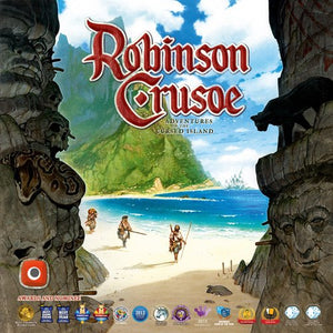 "Robinson Crusoe: Adventures on the Cursed Island, Board Game, Age_Adult, Age_Teen, Category_Solo, Category_Thematic, Ignacy Trzewiczek, Mechanic_Cooperative, Mechanic_Deck Building, Mechanic_Dice Rolling, Mechanic_Programming, Mechanic_Tile Placement, Mechanic_Worker Placement, ""board games"", ""Hobby Games"""