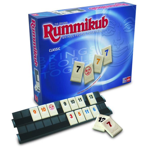 "Rummikub - Classic, Board Game, Age_10+, Age_8+, Age_9+, Age_Adult, Age_Teen, Category_Abstract, Category_Family, Ephraim Hertzano, Mechanic_Set Collection, Rummikub, ""board games"", ""Hobby Games"""