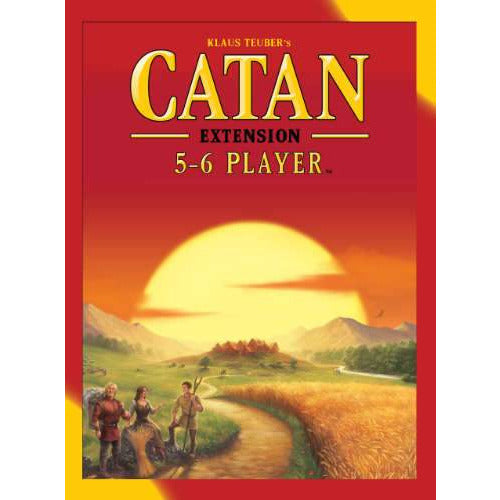 "Catan 5-6 player Extension - 5th Edition, Board Game, Age_8-10 years, Category_Expansion, Category_Family, Klaus Teubler, Mechanic_Dice Rolling, Mechanic_Hand Management, Mechanic_Modular Board, Mechanic_Route Building, Mechanic_Trading, ""board games"", ""Hobby Games"", Hobby Games"
