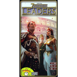 "7 Wonders: Leaders, Board Game, 7 Wonders, Age_10+, Age_Adult, Age_Teen, Antoine Bauza, Bruno Cathala, Category_Expansion, Category_Family, Category_Strategy, Mechanic_Drafting, Mechanic_Set Collection, ""board games"", ""Hobby Games"""