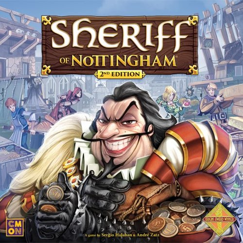 "Sheriff of Nottingham 2nd Edition, Board Game, Age_8-10 years, André Zatz, Card Game, Category_Family, Category_Party, Mechanic_Drafting, Mechanic_Hand Management, Mechanic_Set Collection, Sérgio Halaban, ""board games"", ""Hobby Games"", Hobby Games"