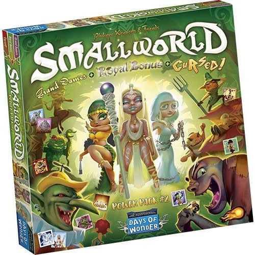 "Small World Power Pack 2, Board Game, Age_8-10 years, Category_Expansion, Category_Family, Category_Strategy, Mechanic_Area Control, Mechanic_Dice Rolling, Mechanic_Variable Player Powers, Philippe Keyaerts, Small World, ""board games"", ""Hobby Games"", Hobby Games"