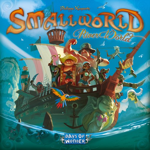 "Small World River World, Board Game, Age_10+, Age_8+, Age_9+, Age_Adult, Age_Teen, Category_Expansion, Category_Family, Category_Strategy, Days of Wonder, Mechanic_Area Control, Mechanic_Dice Rolling, Mechanic_Variable Player Powers, Philippe Keyaerts, Small World, ""board games"", ""Hobby Games"""