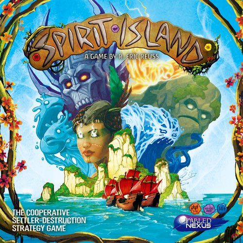 "Spirit Island, Card Game, Age_Adult, Age_Teen, Category_Solo, Category_Strategy, Category_Thematic, Mechanic_Area Control, Mechanic_Cooperative, Mechanic_Hand Management, Mechanic_Modular Board, Mechanic_Programming, Mechanic_Set Collection, Mechanic_Variable Player Powers, R. Eric Reuss, ""board games"", ""Hobby Games"""