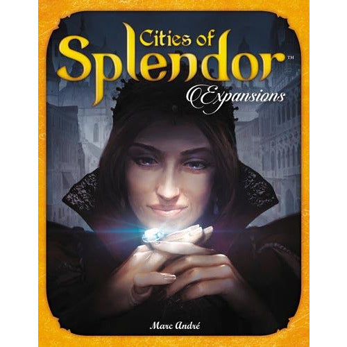 "Splendor Cities of Splendor, Board Game, Age_8-10 years, Category_Expansion, Category_Family, Marc André, Mechanic_Drafting, Mechanic_Set Collection, ""board games"", ""Hobby Games"", Hobby Games"