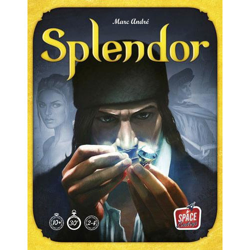 "Splendor, Board Game, Age_8-10 years, Category_Family, Marc André, Mechanic_Drafting, Mechanic_Set Collection, ""board games"", ""Hobby Games"""