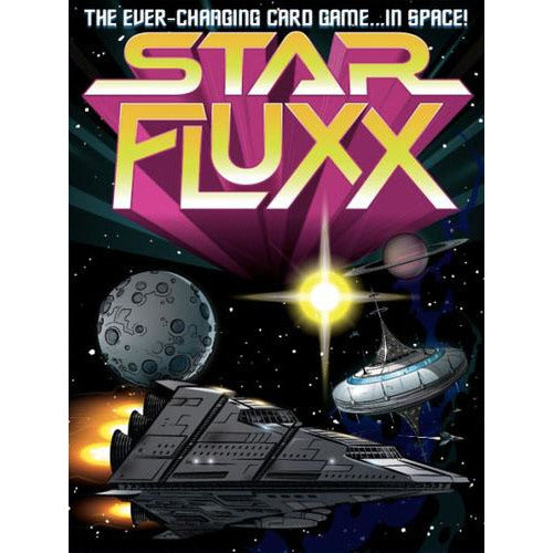 "Star Fluxx, Card Game, Age_8-10 years, Andrew Looney, Category_Educational, Category_Family, Category_Party, Fluxx, Mechanic_Hand Management, Mechanic_Set Collection, ""board games"", ""Hobby Games"", Hobby Games"