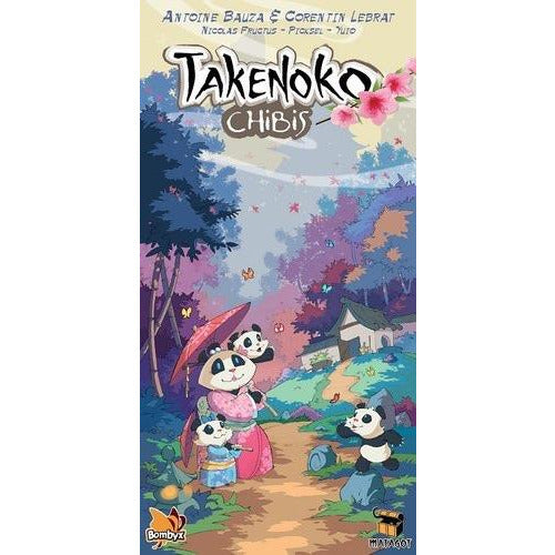 "Takenoko Chibis, Board Game, Age_8-10 years, Antoine Bauza, Category_Expansion, Category_Family, Mechanic_Dice Rolling, Mechanic_Modular Board, Mechanic_Pattern Building, Mechanic_Set Collection, Mechanic_Tile Placement, Richard Garfield, ""board games"", ""Hobby Games"", Hobby Games"