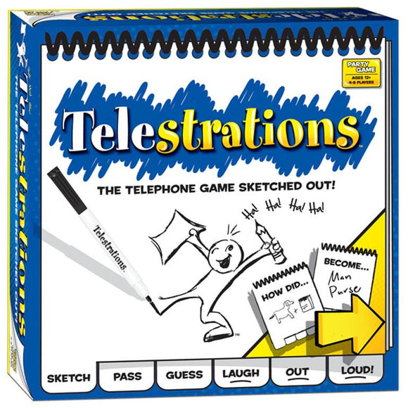 "Telestrations, Board Game, Age_Teens, Category_Party, Mechanic_Drawing, ""board games"", ""Hobby Games"""
