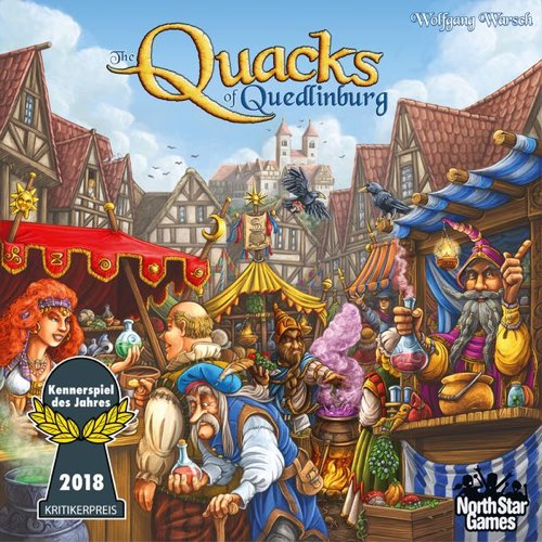"The Quacks of Quedlinburg, Board Game, Age_10+, Age_Adult, Age_Teen, Category_Family, Mechanic_Deck Building, Mechanic_Press Your Luck, ""board games"", ""Hobby Games"""