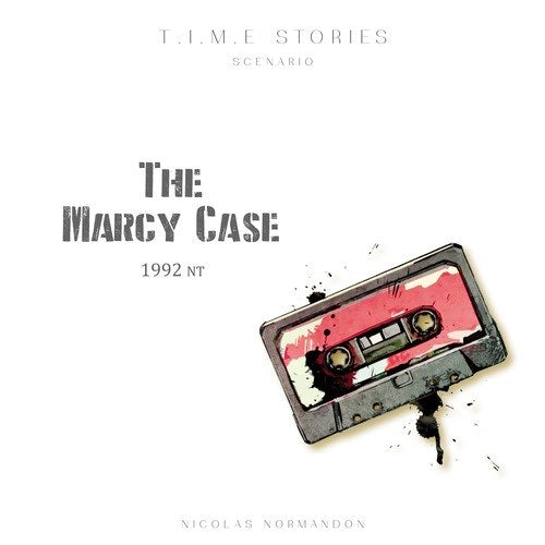 "T.I.M.E Stories: The Marcy Case, Board Game, Age_Adult, Age_Teen, Category_Expansion, Category_Thematic, Manuel Rozoy, Mechanic_Cooperative, Mechanic_Dice Rolling, Mechanic_Variable Player Powers, Peggy Chassenet, Time Stories, Time Story, ""board games"", ""Hobby Games"""