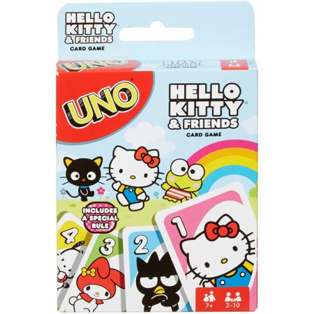 "Uno - Hello Kitty, Card Game, Age_10+, Age_7+, Age_8+, Age_9+, Age_Adult, Age_Teen, Category_Family, Mechanic_Hand Management, Mechanic_Take That, Super Mario, Uno, ""board games"", ""Hobby Games"""