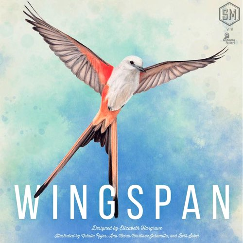 "Wingspan, Board Game, Age_8-10 years, Category_Solo, Category_Strategy, Elizabeth Hargrave, Mechanic_Dice Rolling, Mechanic_Hand Management, Mechanic_Set Collection, Stonemaier Games, ""board games"", ""Hobby Games"""