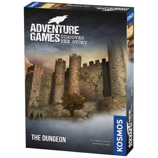 "Adventure Games the Dungeon, Board Game, Age_Adults, Category_Escape Room, Category_Thematic, Matthew Dunstan, Maximilian Schiller, Mechanic_Cooperative, Phil Walker-Harding, ""board games"", ""Hobby Games"", Hobby Games"