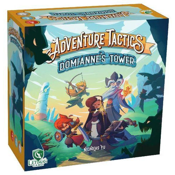 "Adventure Tactics Domiannes Tower, Board Game, Age_8-10 years, Anna Bereza, Category_Cooperative, Category_Family, Category_Solo, Dawson Cowals, Jacob Croft, Letiman Games, Mechanic_Campaign, Mechanic_Cooperative, Mechanic_Dice Rolling, Mechanic_Role Playing, Michael Cofer, Nicholas Yu, ""board games"", ""Hobby Games"", Hobby Games"