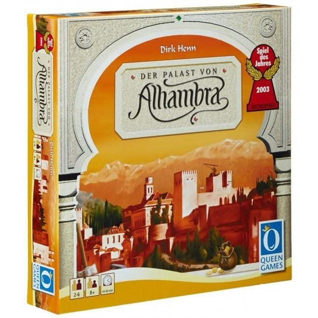 "Alhambra, Board Game, Age_8-10 years, Category_Family, Category_Strategy, Mechanic_Drafting, Mechanic_Hand Management, Mechanic_Pattern Building, Mechanic_Set Collection, Mechanic_Tile Placement, ""board games"", ""Hobby Games"", Hobby Games"