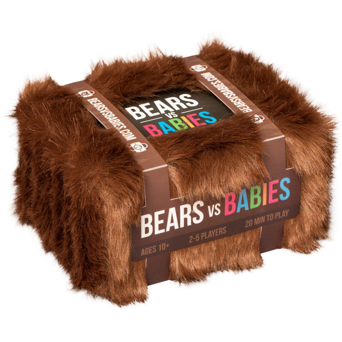 "Bears vs Babies, Card Game, Age_5-7 years, Category_Family, Category_Party, Mechanic_Hand Management, Mechanic_Player Elimination, Mechanic_Set Collection, Mechanic_Take That, ""board games"", ""Hobby Games"", Hobby Games"