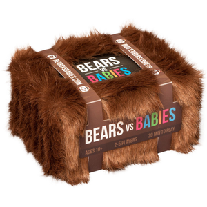 "Bears vs Babies, Card Game, Age_10+, Age_7+, Age_8+, Age_9+, Age_Adult, Age_Teen, Category_Family, Category_Party, Mechanic_Hand Management, Mechanic_Player Elimination, Mechanic_Set Collection, Mechanic_Take That, ""board games"", ""Hobby Games"""