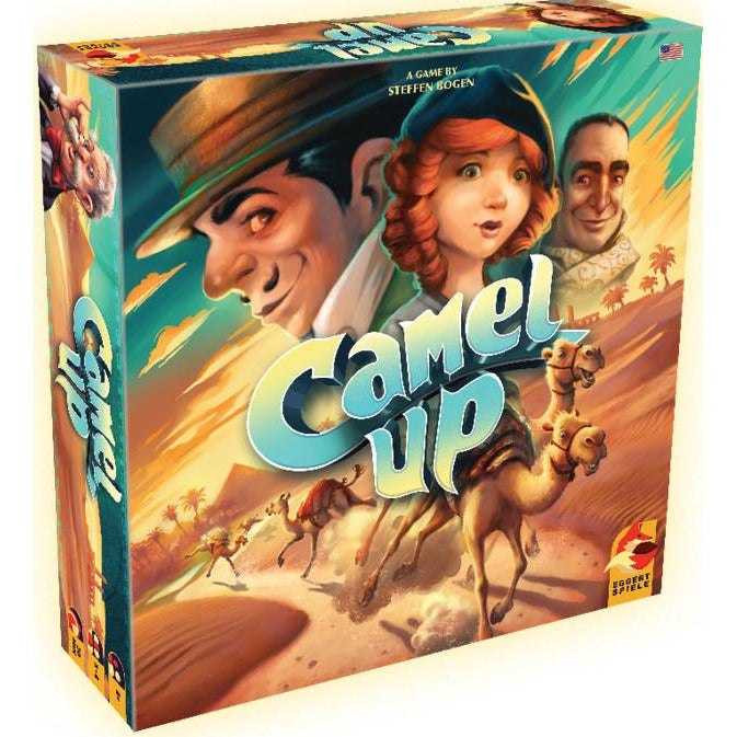 "Camel Up - Second Edition, Board Game, Age_8-10 years, Category_Family, Mechanic_Bidding, Mechanic_Dice Rolling, Mechanic_Hand Management, ""board games"", ""Hobby Games"", Hobby Games"