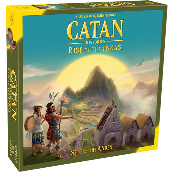"Catan Histories - Rise of the Inkas, Board Game, Age_10+, Age_Adult, Age_Teen, Catan, Category_Family, Klaus Teubler, Mechanic_Dice Rolling, Mechanic_Hand Management, Mechanic_Modular Board, Mechanic_Route Building, Mechanic_Trading, ""board games"", ""Hobby Games"""