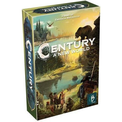 "Century A New World, Board Game, Age_10+, Age_8+, Age_9+, Age_Adult, Age_Teen, Category_Family, Category_Strategy, Emerson Matsuuchi, Mechanic_Modular Board, Mechanic_Pick-up and Deliver, Mechanic_Set Collection, ""board games"", ""Hobby Games"""