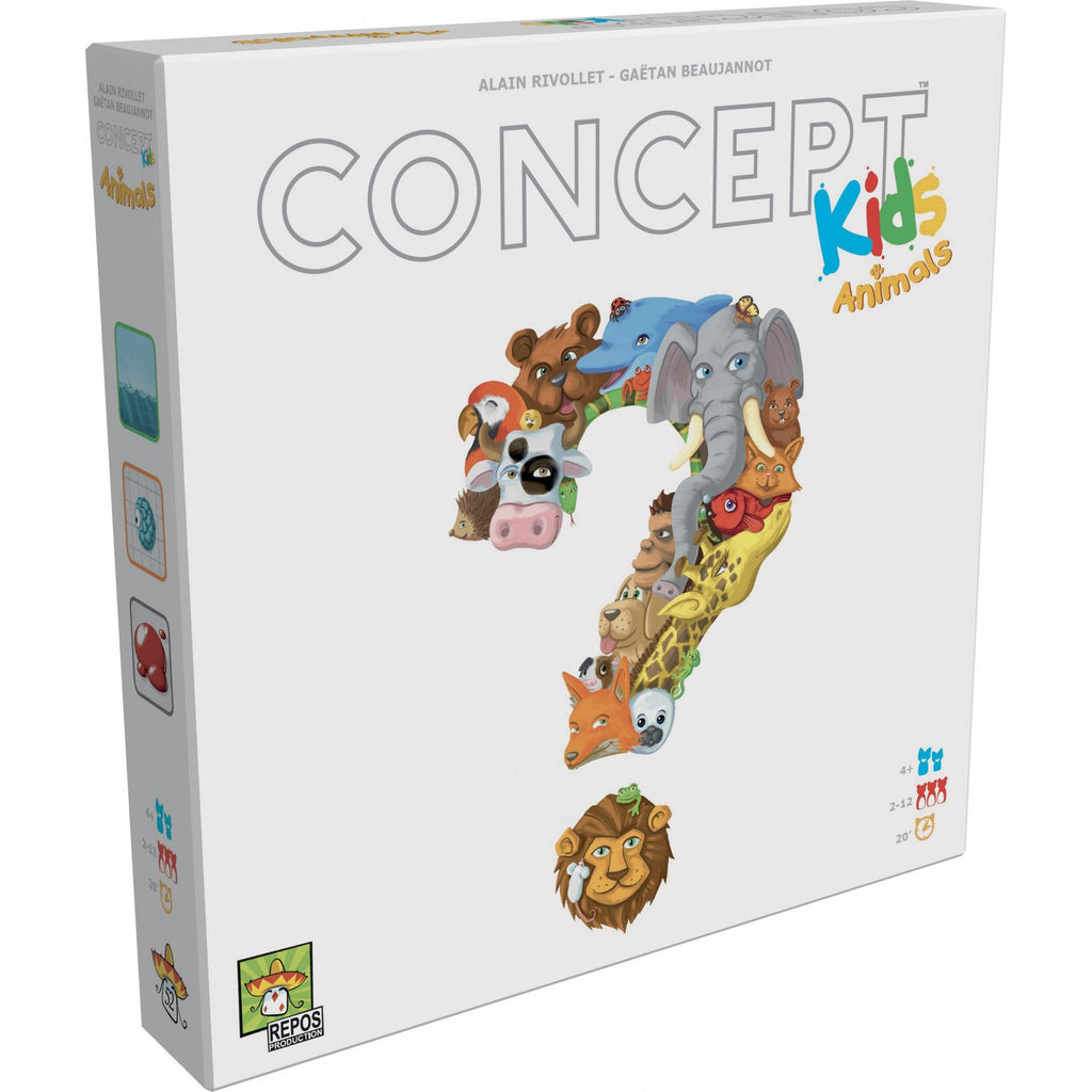 "Concept Kids - Animals, Board Game, Age_Preschool, Alain Rivollet, Category_Childrens, Category_Family, Gaëtan Beaujannot, Mechanic_Cooperative, Mechanic_Deduction, ""board games"", ""Hobby Games"", Hobby Games"