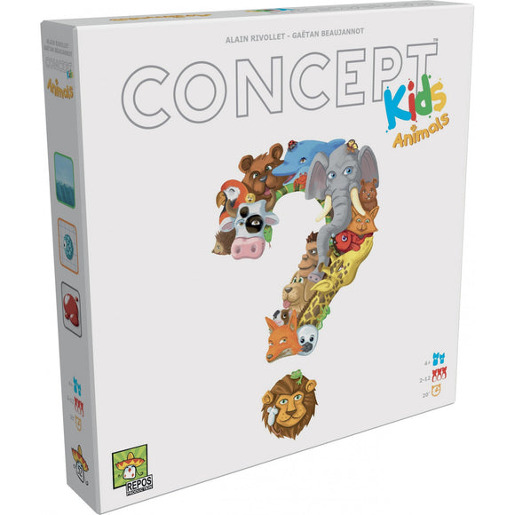 "Concept Kids - Animals, Board Game, Age_10+, Age_4+, Age_5+, Age_6+, Age_7+, Age_8+, Age_9+, Age_Adult, Age_Teen, Alain Rivollet, Category_Childrens, Category_Family, Gaëtan Beaujannot, Mechanic_Cooperative, Mechanic_Deduction, ""board games"", ""Hobby Games"""