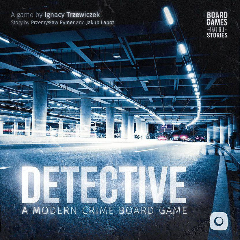 "Detective a Modern Crime Board Game, Board Game, Age_Adults, Category_Thematic, Ignacy Trzewiczek, Jakub Łapot, Mechanic_Deduction, Przemysław Rymer, ""board games"", ""Hobby Games"", Hobby Games"