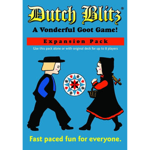 "Dutch Blitz Blue Expansion, Card Game, Age_8-10 years, Category_Family, Mechanic_Real Time, ""board games"", ""Hobby Games"""
