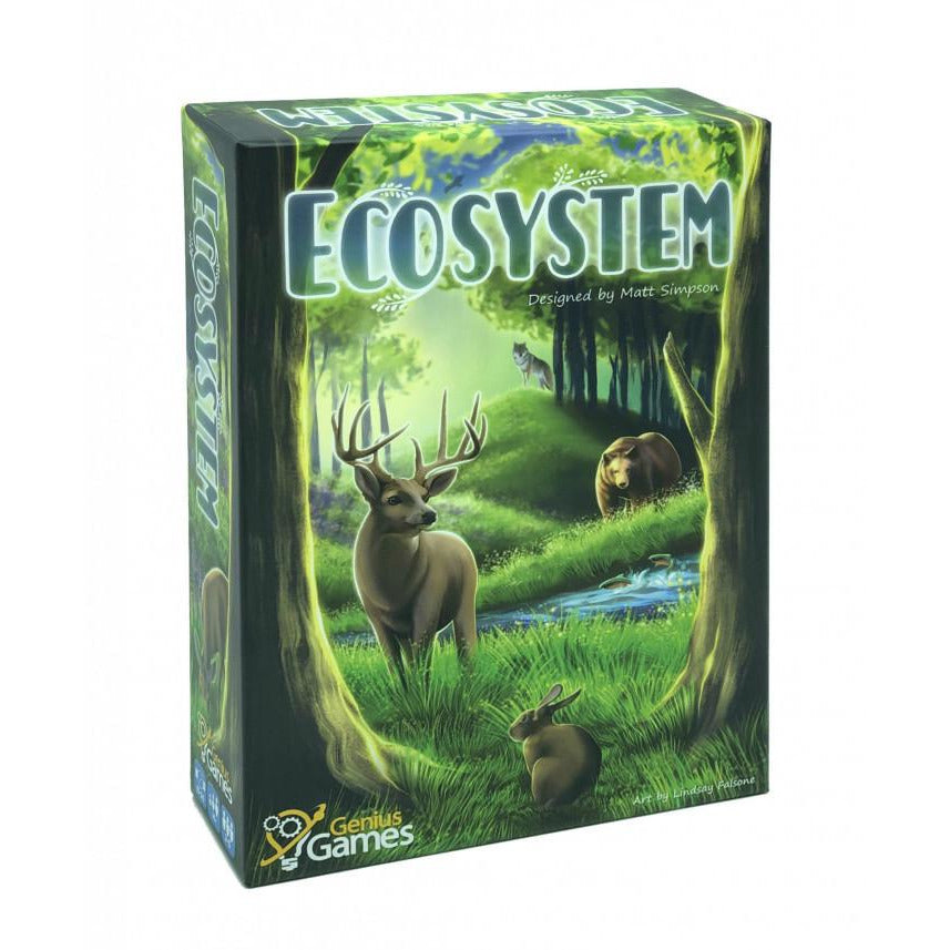 "Ecosystem, Board Game, Age_Teens, Animals, Card Game, Category_Educational, Category_Family, Genius Games, Lindsay Falsone, Matt Simpson, Mechanic_Drafting, ""board games"", ""Hobby Games"", Hobby Games"